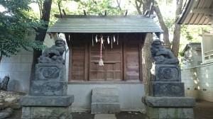 神明氷川神社 津島神社 社殿