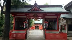 馬橋稲荷神社 随身門