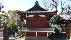 牛嶋神社 神楽殿