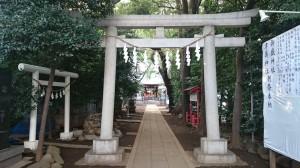 神明氷川神社 大鳥居
