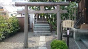 目黒大鳥神社 目黒稲荷神社 (1)