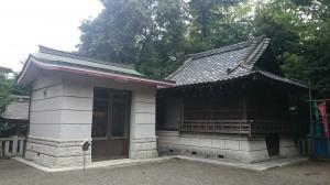 水稲荷神社 御神楽殿と御神輿蔵