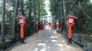 馬橋稲荷神社 参道 (2)