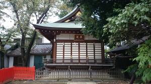 馬橋稲荷神社 舞殿