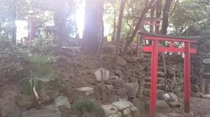 水稲荷神社 冨塚古墳と稲荷小祠群 (2)