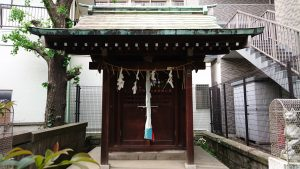 磐井神社 海豊稲荷神社 社殿