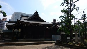 磐井神社 社殿全景