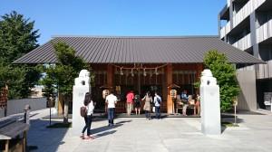 神楽坂赤城神社