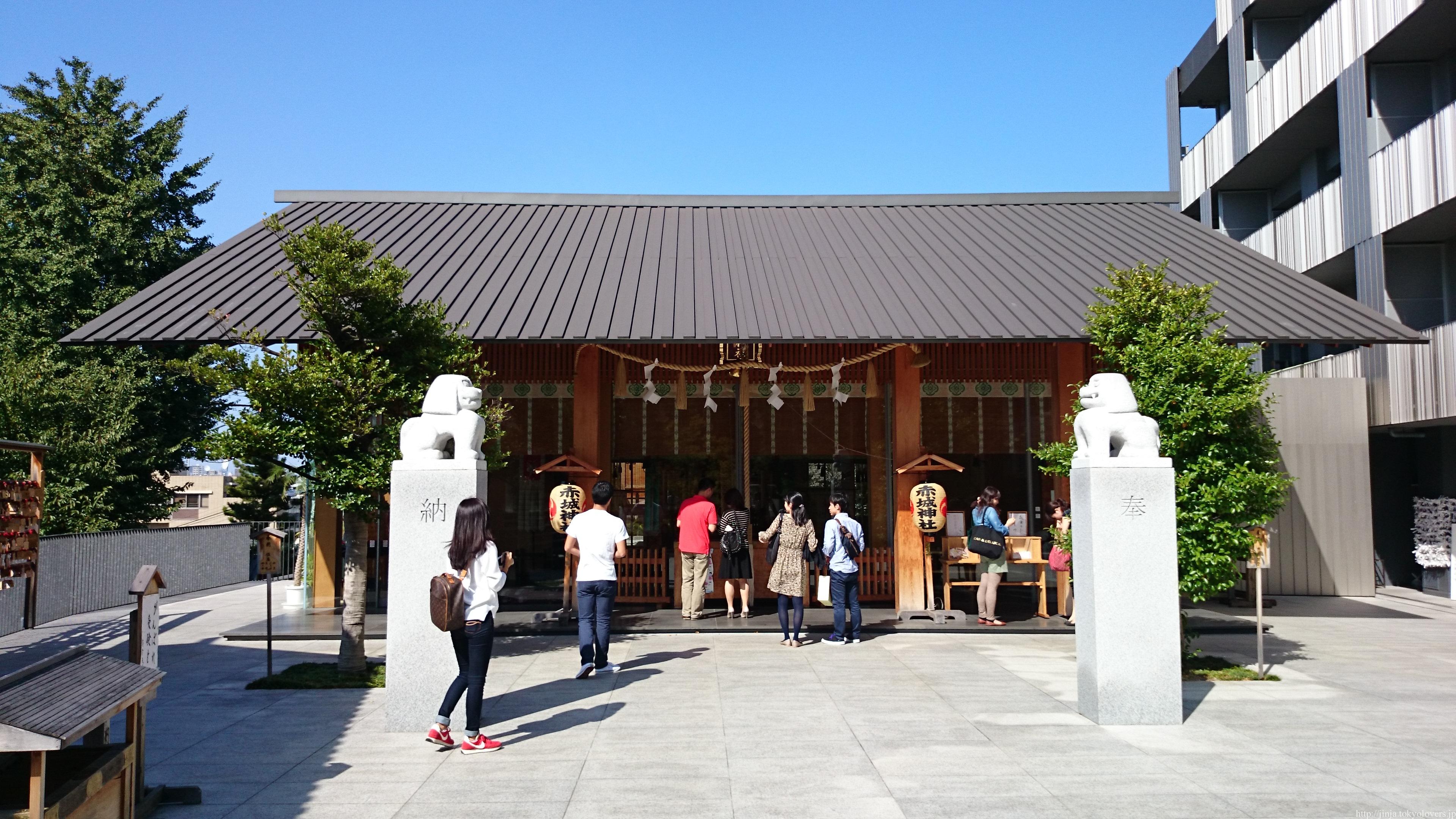 赤城神社 (東京都新宿区)   御朱印散歩覚書