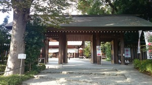 阿佐谷神明宮 瑞祥門(神門)
