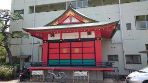 徳持神社 神楽殿