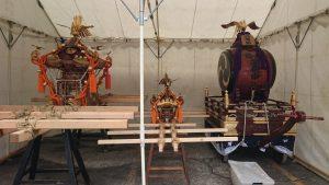 磐井神社 宮神輿