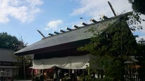 阿佐谷神明宮 拝殿