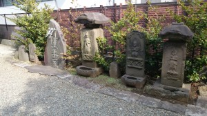 目黒大鳥神社 庚申塔など