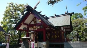 徳持神社 社殿