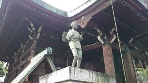 鐵砲洲稲荷神社 二宮尊徳像