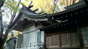 神明氷川神社 本殿