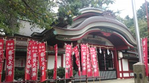 水稲荷神社 社殿 (3)