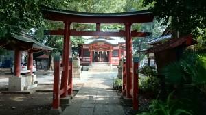 永福稲荷神社 二の鳥居