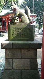 永福稲荷神社 神狐 (1)