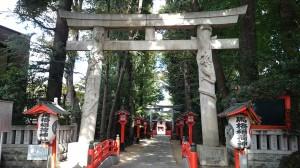 馬橋稲荷神社 二の鳥居