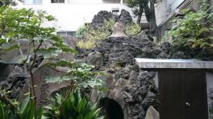鐵砲洲稲荷神社 鐵砲洲富士と富士浅間神社 (1)