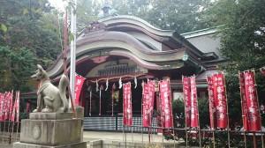 水稲荷神社 社殿 (1)
