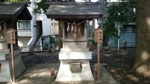 永福稲荷神社 白山社