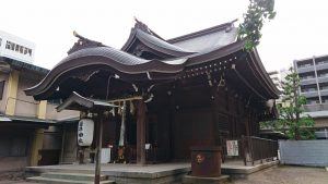 磐井神社 拝殿