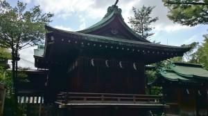 鐵砲洲稲荷神社 神楽殿(2)