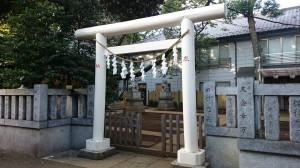 神明氷川神社 南鳥居