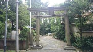 水稲荷神社 鳥居