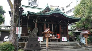 鐵砲洲稲荷神社 拝殿