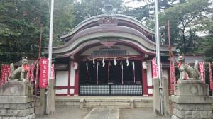 水稲荷神社 社殿 (2)