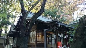 神明氷川神社 社殿 (1)