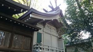 神明氷川神社 本殿 (1)