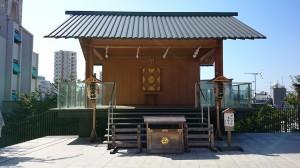 神楽坂赤城神社 蛍雪天神社