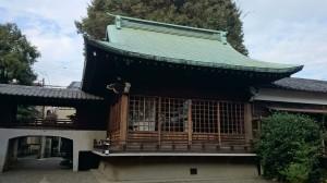 本郷氷川神社 神楽殿