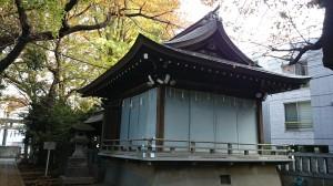 神明氷川神社 神楽殿