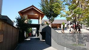 神楽坂赤城神社 境内 (1)