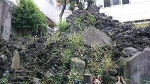 鐵砲洲稲荷神社 鐵砲洲富士と富士浅間神社 (2)