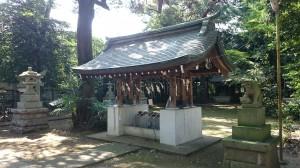 下高井戸浜田山八幡神社 手水舎