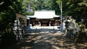 下高井戸浜田山八幡神社 境内