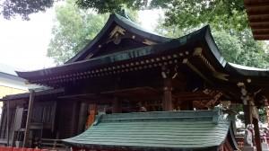 馬橋稲荷神社 社殿