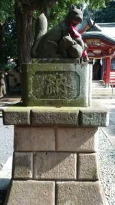 永福稲荷神社 神狐 (2)