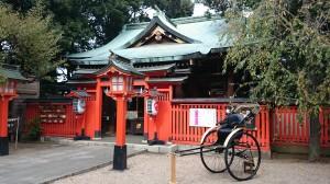 馬橋稲荷神社 拝殿