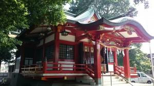 永福稲荷神社 北側全景