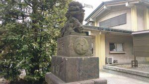 磐井神社 狛犬 吽