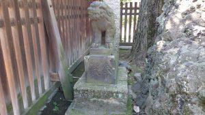 牛嶋神社 瑞垣内狛犬 (2)