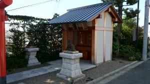 神楽坂赤城神社 赤城出世稲荷神社・八耳神社・葵神社